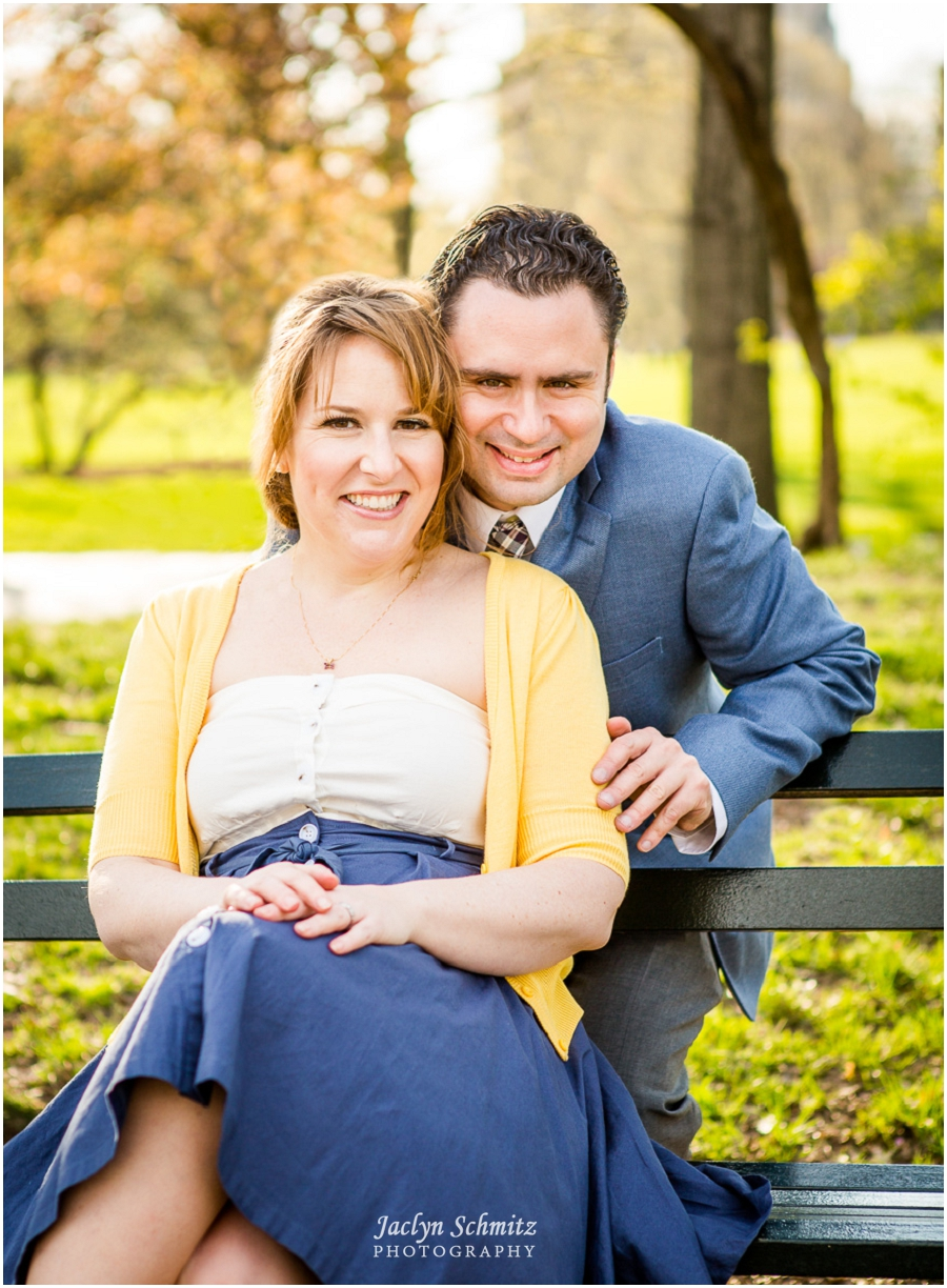 ny engagement session central park