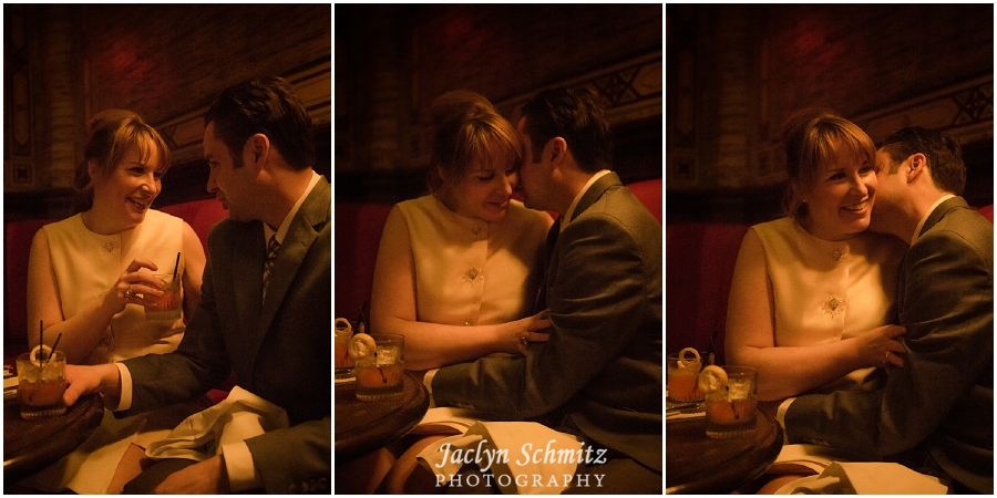 mad men style ny engagement session