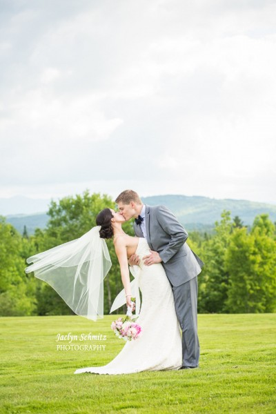 gorgeous outdoor mountain wedding nh
