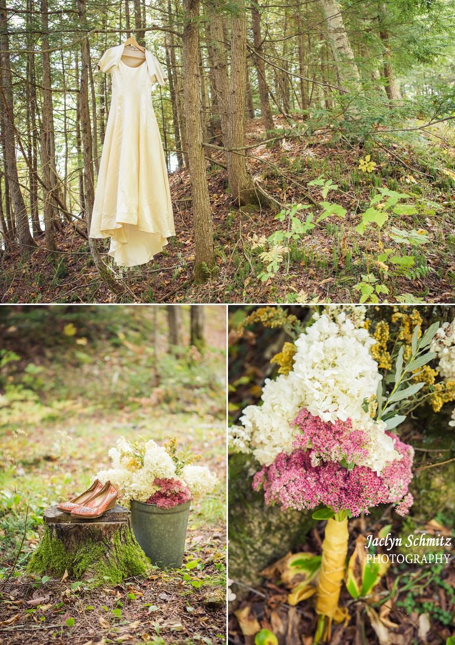 antique wedding dress country wedding