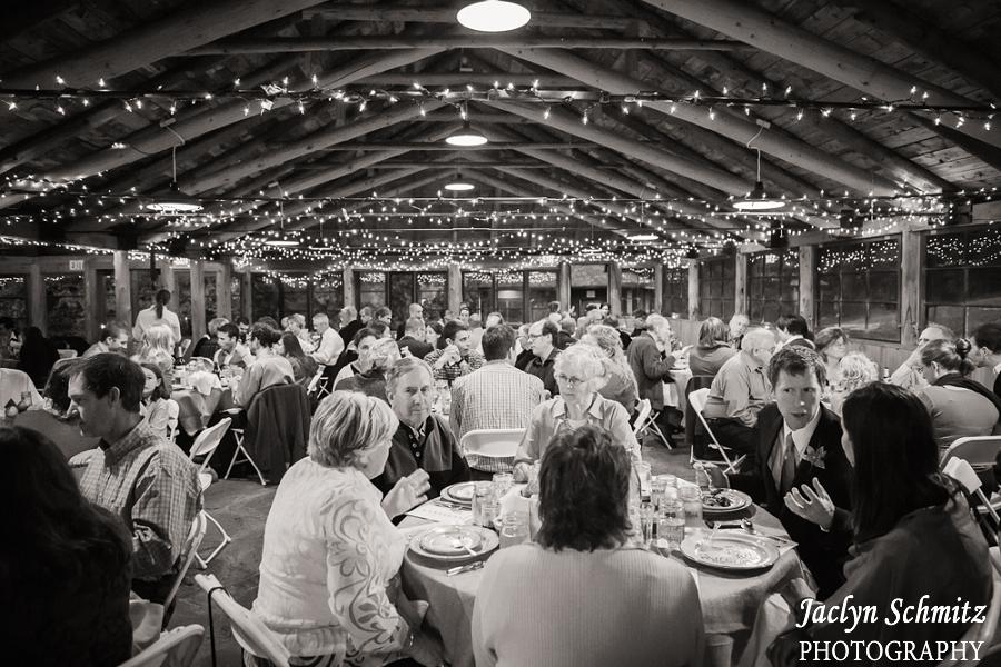 large barn reception dinner vt