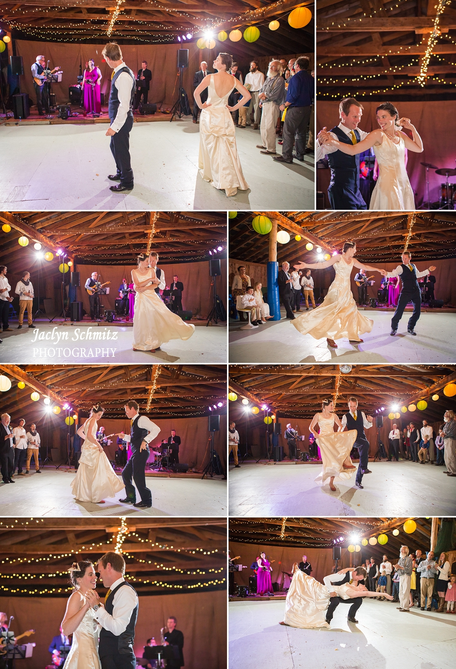 awesome choreographed first dance vermont wedding photographer