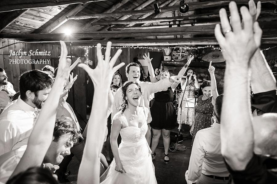 hosmer summer camp wedding reception
