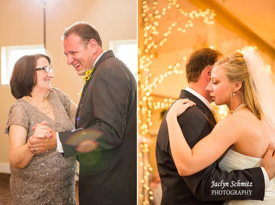 ambient versus flash wedding reception lighting