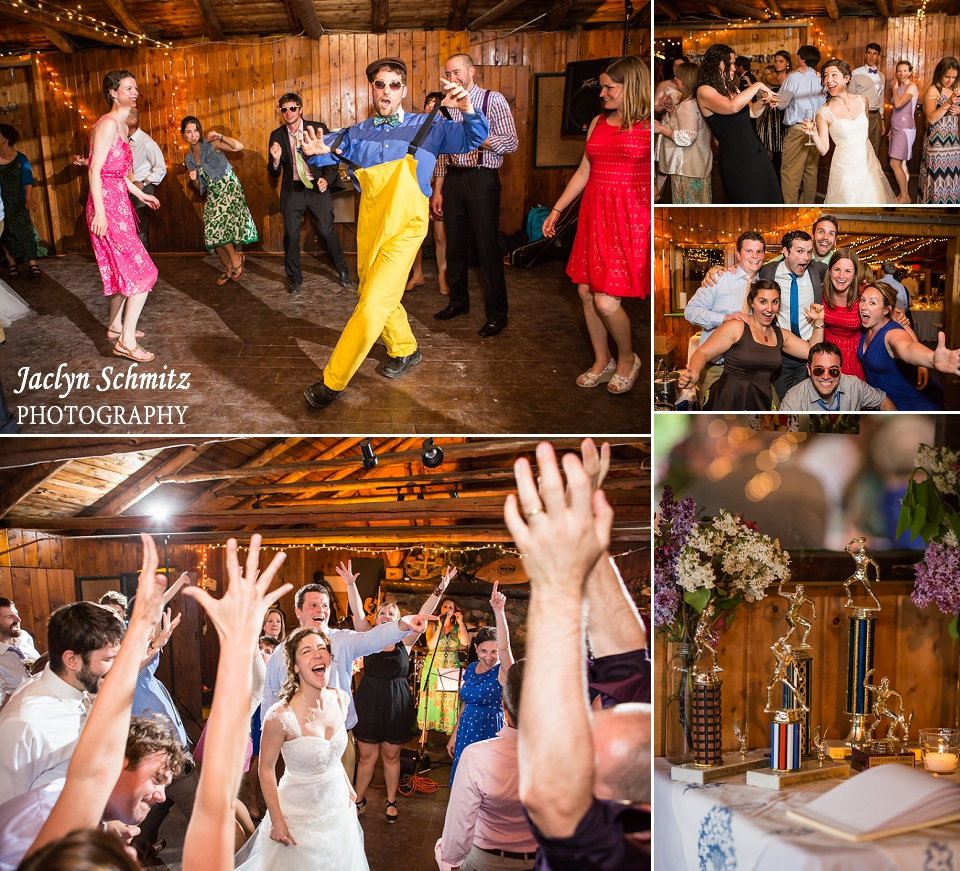 candid singing at the top of your lungs hands in the air wedding reception dancing