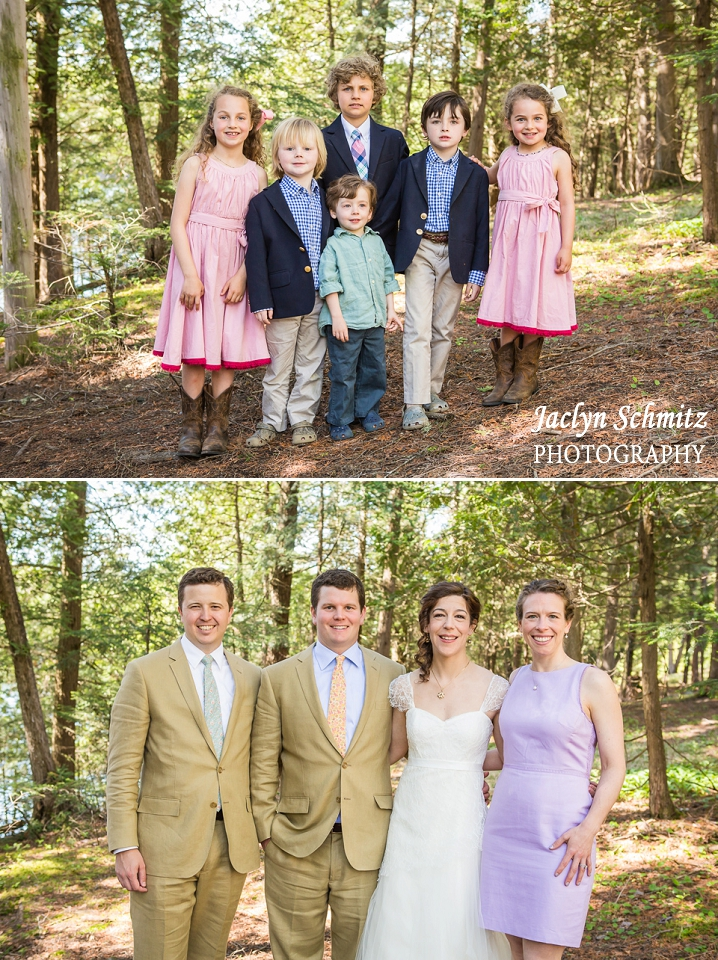 adorable pink navy wedding outfits for children